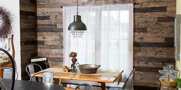 Rustic Grove in Mixed Brown