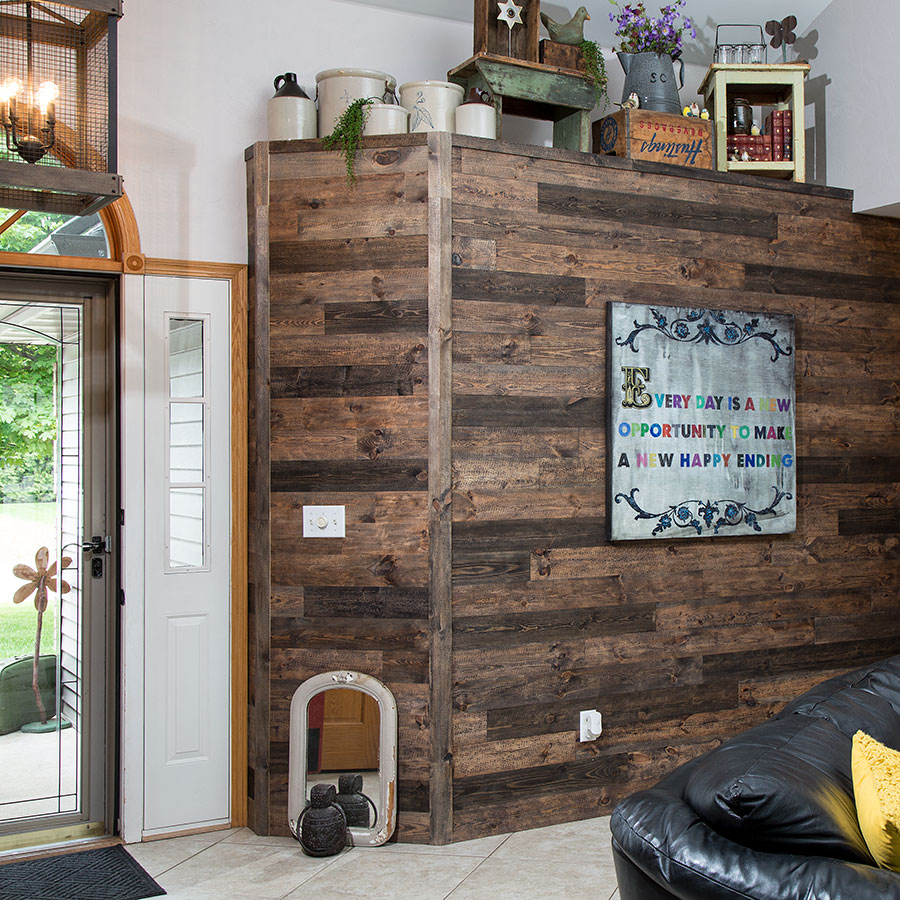 Mixed Brown Rustic Grove planks
