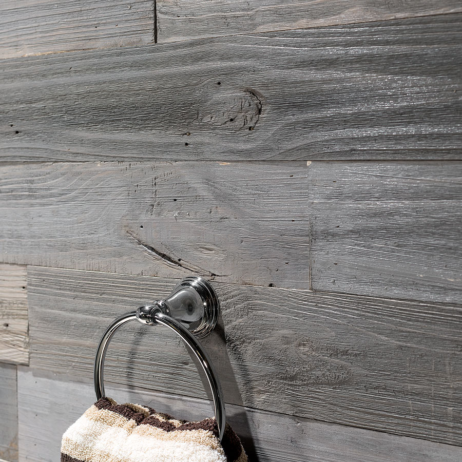 Mixed Gray-Dark Rustic Grove planks